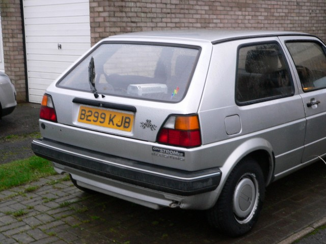 1985 VW CityStromer Electric Golf