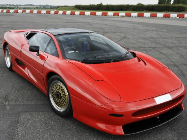 1990 Jaguar XJ220 Prototype No. 2. Images via eBay Motors.