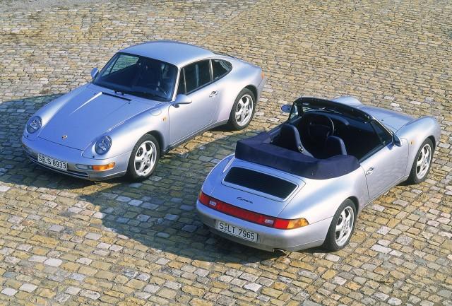 1994 Porsche 911 Carrera and 911 Carrera Cabriolet