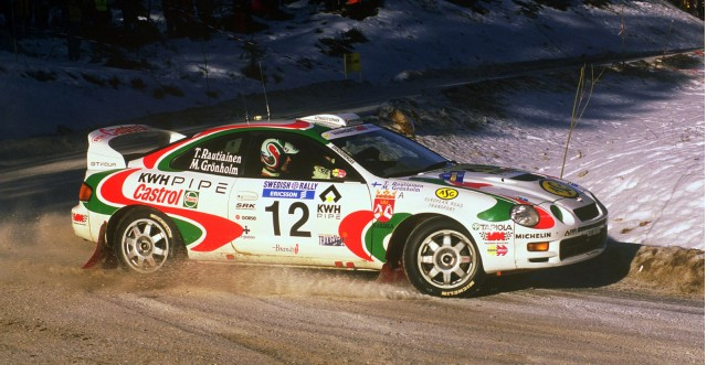 1997 Toyota Celica WRC rally car