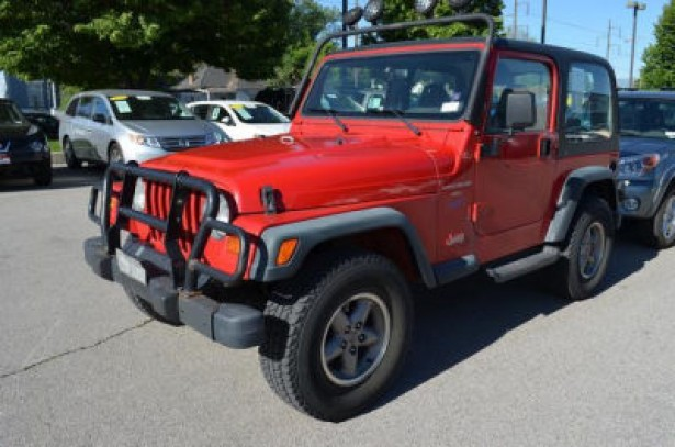 1998 Jeep Wrangler used car