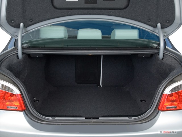 Image 2007 Bmw 5 Series 4 Door Sedan M5 Trunk Size 640