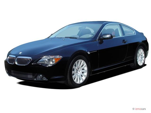2005 BMW 6-Series 645Ci 2-door Coupe Angular Front Exterior View