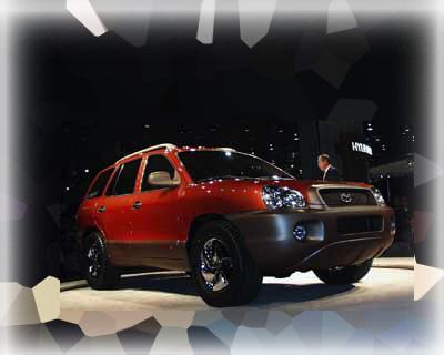 1999 Hyundai concept Santa Fe SUV