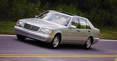1999 Mercedes S-class