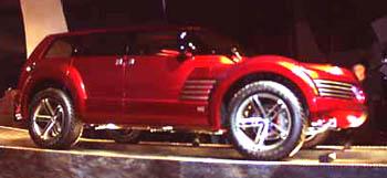 1999 Mitsubishi concept SSU