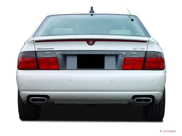 image 2003 cadillac seville 4 door touring sedan sts rear exterior view size 640 x 480 type. Black Bedroom Furniture Sets. Home Design Ideas