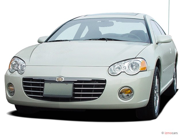 2005 Chrysler Sebring Coupe 2-door Limited Angular Front Exterior View