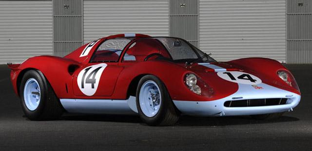 1966 Ferrari 206 S Dino Spyder - Image courtesy RM Auctions