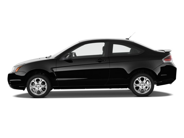 Image 2010 Ford Focus 2door Coupe SE Side Exterior View size