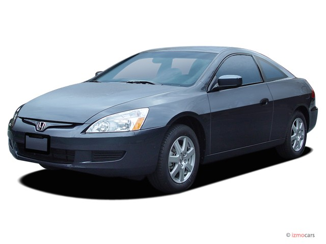 2005 Honda Accord Coupe EX AT Angular Front Exterior View