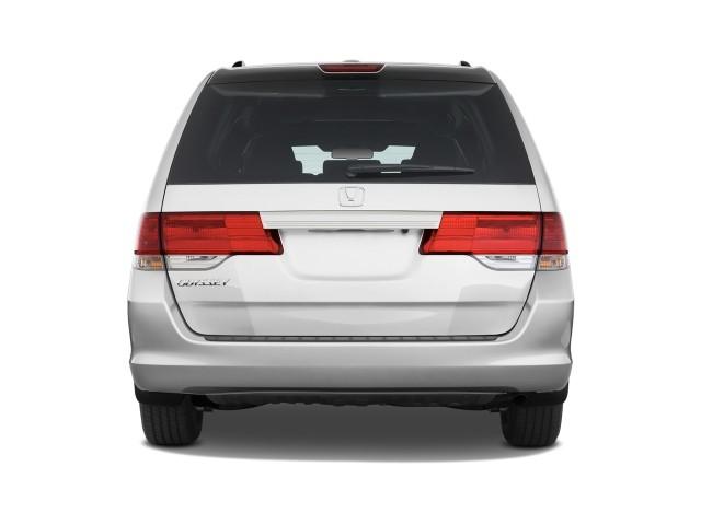 Image: 2009 Honda Odyssey 4-door Wagon EX-L Rear Exterior ...