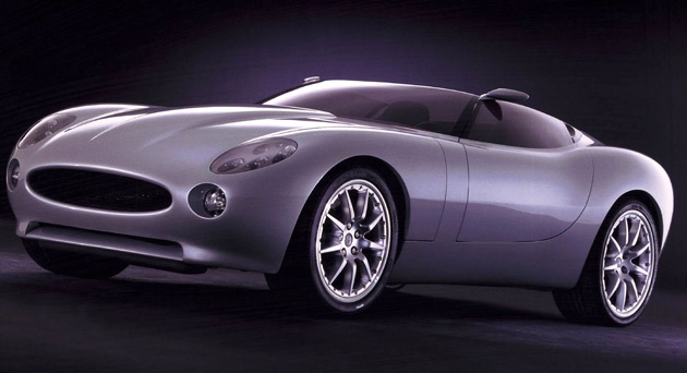 Jaguar first previewed a modern lightweight roadster back in 2000 with the F-Type concept car