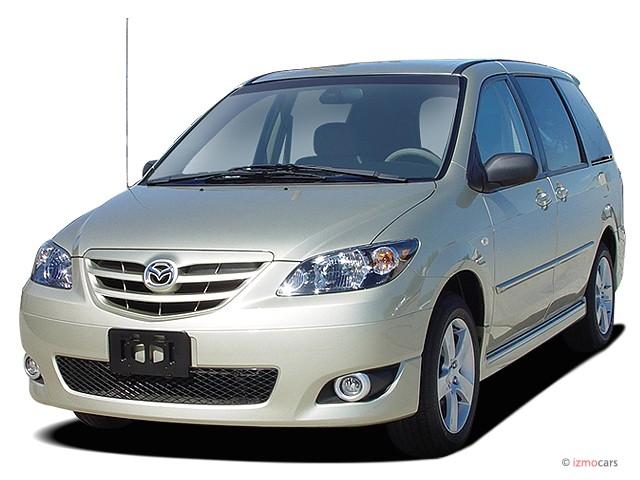 2004 Mazda MPV 4-door LX Angular Front Exterior View