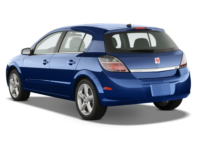 2009 Saturn Astra 5dr HB XR Angular Rear Exterior View