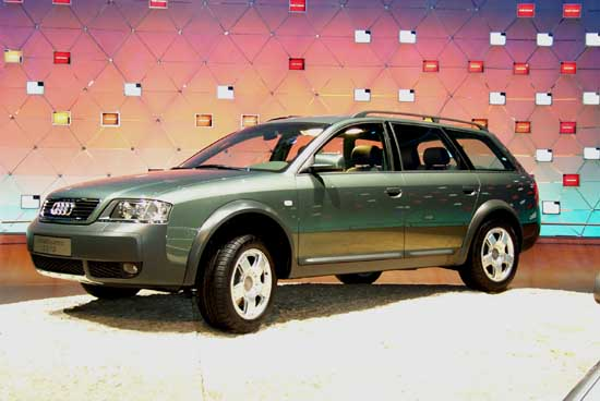2000 Audi All Road concept, Geneva Auto Show