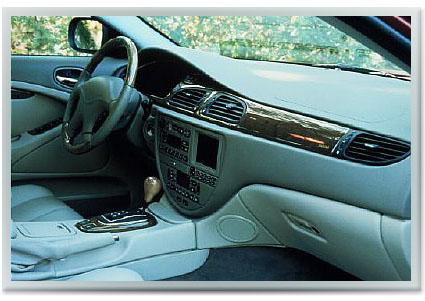 2000 JAGUAR S-TYPE interior