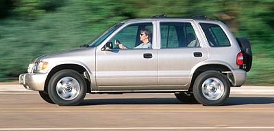 2000 Kia Sportage 4-door