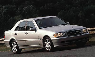 2000 Mercedes C-class Sport