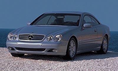 2000 Mercedes CL Coupe