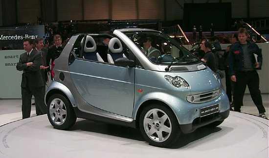 2000 Mercedes Smart Cabrio concept, Geneva Auto Show
