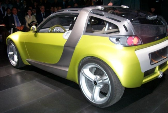 2000 Mercedes Smart Coupe v1 concept