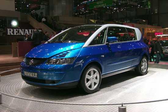 2000 Renault Avantime concept, Geneva Auto Show