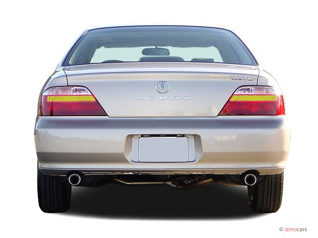 Image: 2003 Acura TL 4-door Sedan 3.2L Rear Exterior View ...