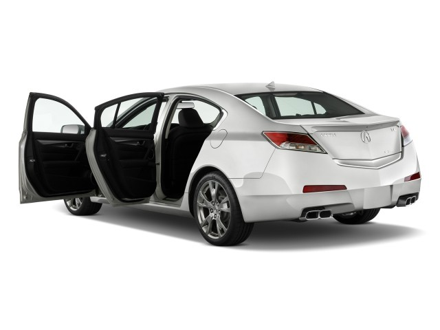 Image: 2009 Acura TL 4-door Sedan SH-AWD Tech HPT Open Doors, size ...