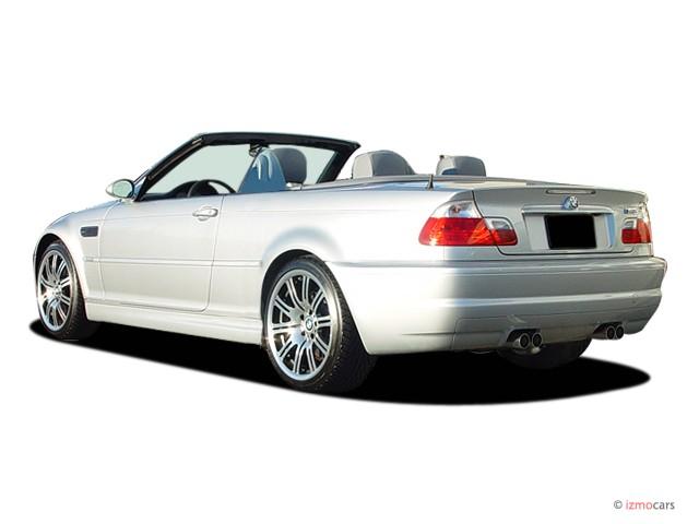 Image: 2006 BMW 3-Series M3 2-door Convertible Angular Rear Exterior View, size: 640 x 480, type ...