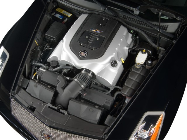 2008 Cadillac XLR-V 2-door Convertible Engine
