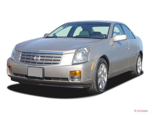 2003 Cadillac CTS 4-door Sedan Angular Front Exterior View