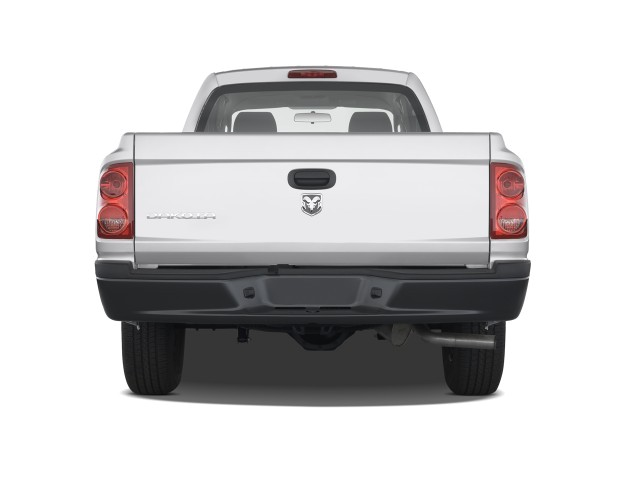 2010 Dodge Dakota 2WD Crew Cab ST Rear Exterior View