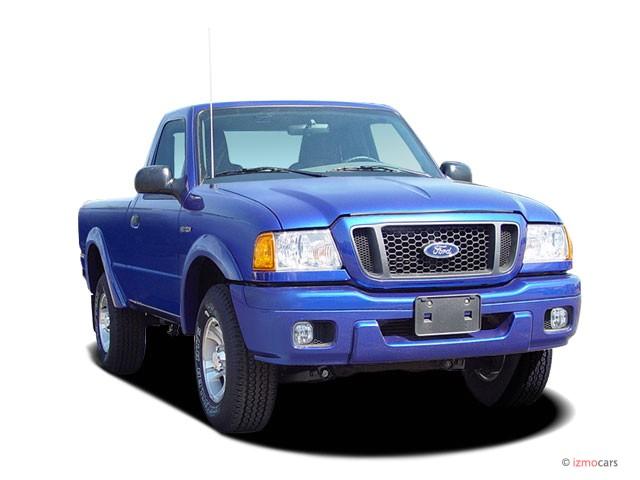 "2005 Ford Ranger Reg Cab 112"" WB Edge Angular Front Exterior View"