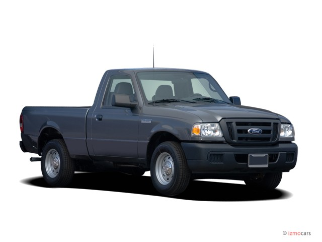 "2006 Ford Ranger Reg Cab 112"" WB XL Angular Front Exterior View"