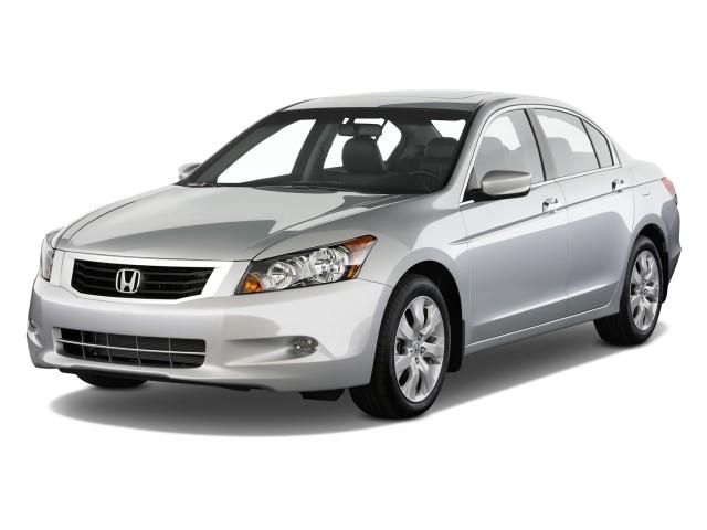 2009 Honda Accord Sedan 4-door V6 Auto EX-L Angular Front Exterior View