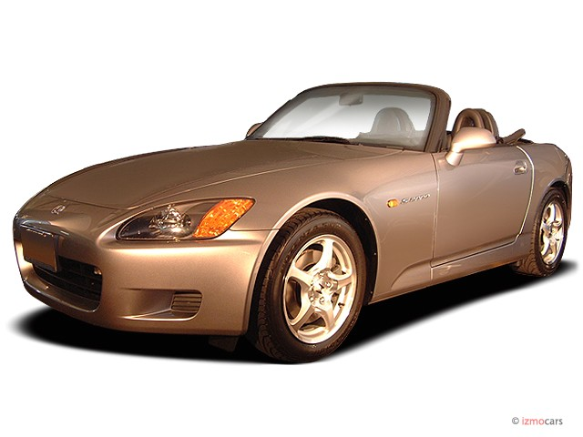 2003 Honda S2000 2-door Convertible Angular Front Exterior View