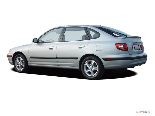 Image  2005 Hyundai Elantra 5dr Sedan Gt Auto Angular Rear