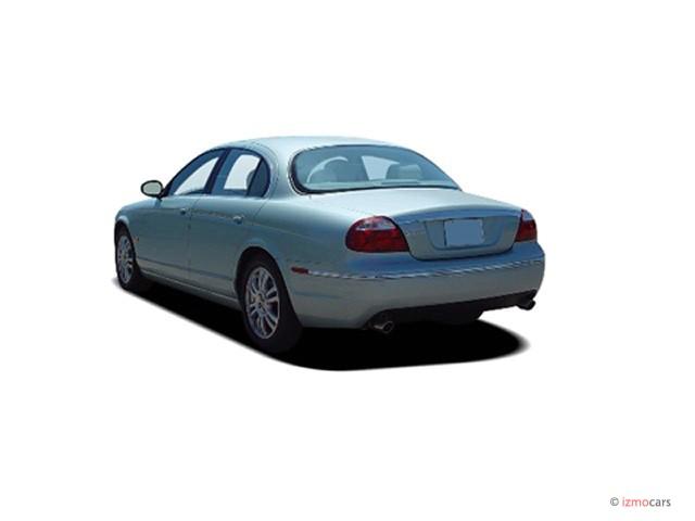 Image 2005 jaguar s type 4 door sedan v6 angular rear for 2001 jaguar s type rear window regulator