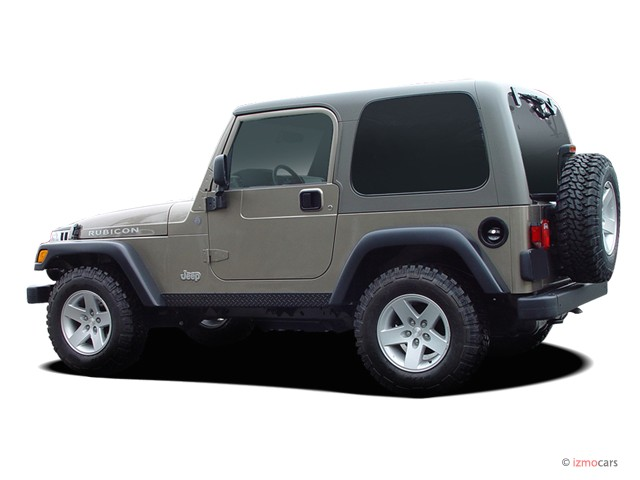 Image 2004 Jeep Wrangler 2 Door Rubicon Angular Rear
