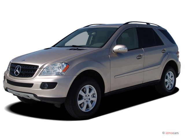 2007 Mercedes-Benz M Class 4WD 4-door 3.5L Angular Front Exterior View