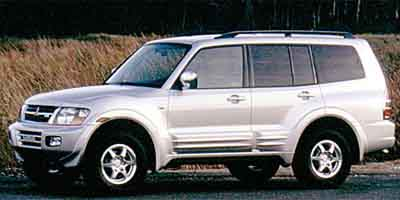 2001 mitsubishi montero review ratings specs prices and photos the car connection. Black Bedroom Furniture Sets. Home Design Ideas