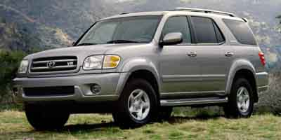 2001 toyota sequoia review ratings specs prices and photos the car connection. Black Bedroom Furniture Sets. Home Design Ideas