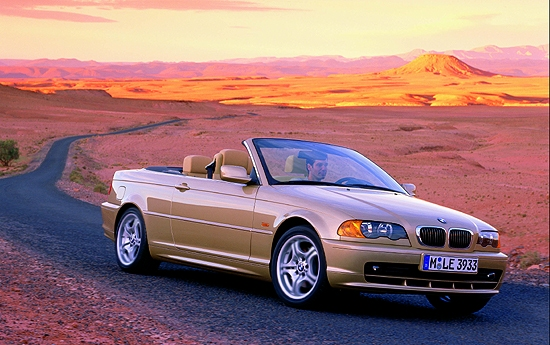 Image 2001 Bmw 3 Series Convertible Size 550 X 345