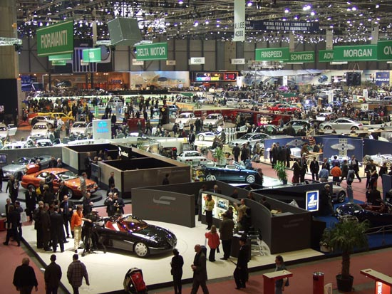 2001 Geneva Motor Show