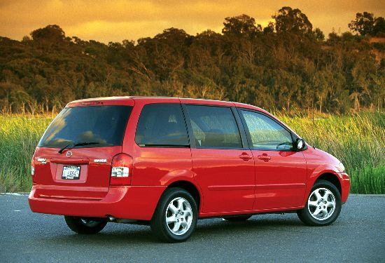 2001 Mazda MPV ES rear