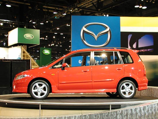 2001 Mazda Premacy concept, Geneva Auto Show