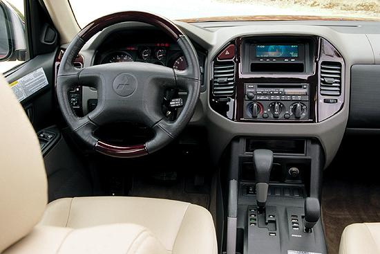 Image 2001 mitsubishi montero limited interior size 550 for Mitsubishi montero interior