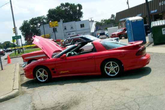 2001 Pontiac Firehawk Dream Cruise 2002