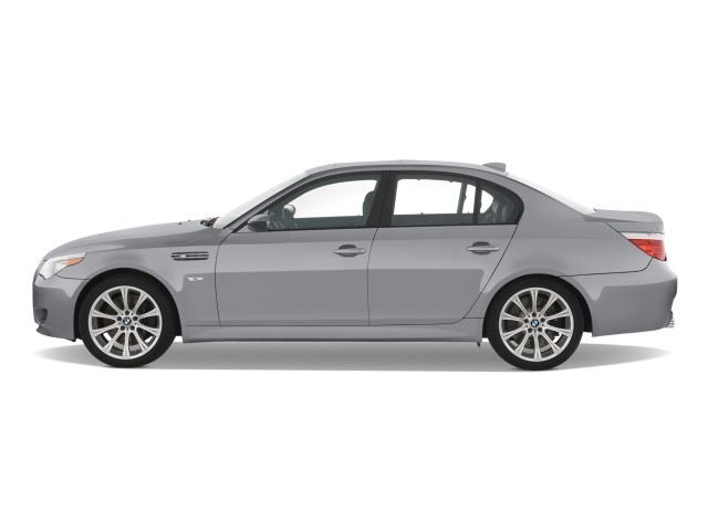 2008 BMW 5-Series 4-door Sedan M5 RWD Side Exterior View